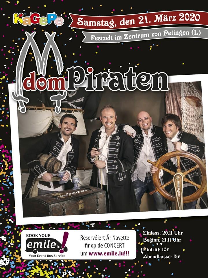 Festzelt-im-Zentrum-vo-Petingen-mat-Dom-Piraten 2020 -