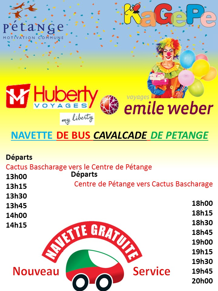 Bus Navette Cavalcade2020